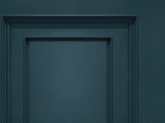 Navy, Smooth Finish, Wooden Panel Effect