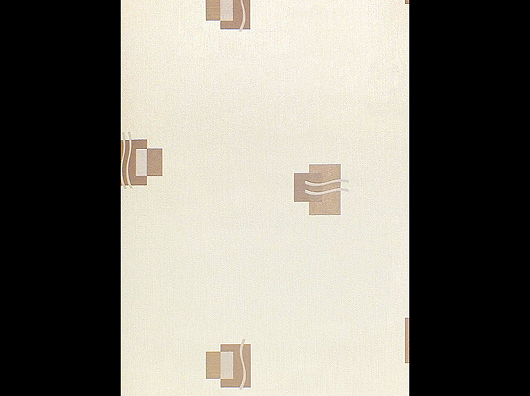 Arthouse Opera Icon Block Motif Chocolate/Cream, Blown Vinyl Wallpaper (910602)