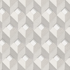 Embellish 3D Stitched Silver Cube Design 31