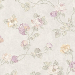 Salvadoro Flower - All-over, Double width roll VR3201