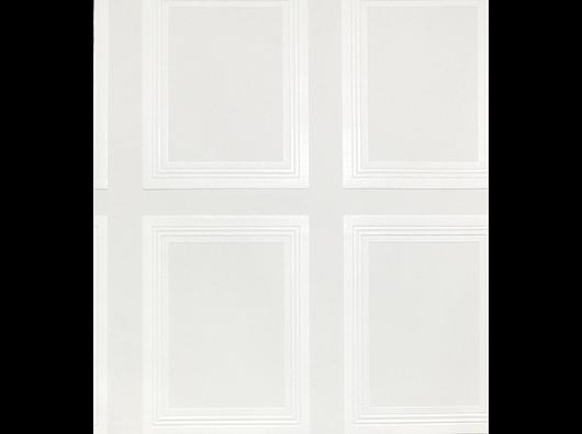 NEW Paintable, Blown Vinyl, Edwardian Panel Design Wallpaper