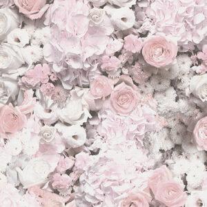 Beautiful Floral, Non Woven Wallpaper 380082