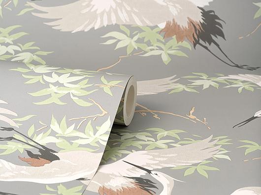 Oriental Style Flying Cranes M1657
