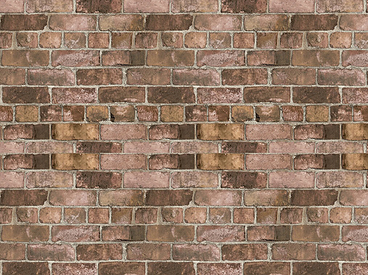Durham Brick Red, Grandeco Life 173401